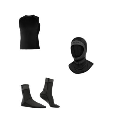 Thermische kledij voor natpakken
